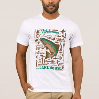 Lake House Pattern T-Shirt