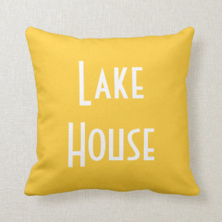 Lake House - Throw Pillow