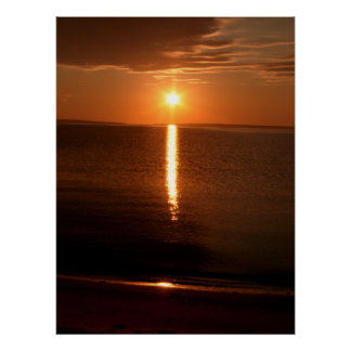 Lake Huron Sunrise Poster