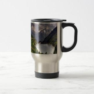 Lake In A Valley Travel Mug