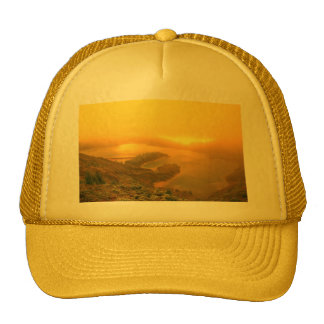 Lake in Azores islands Trucker Hat