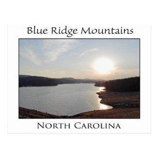 Lake in Blue Ridge Mountains Postcard