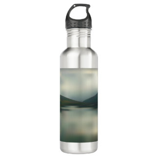 Lake in the mountains 710 ml water bottle