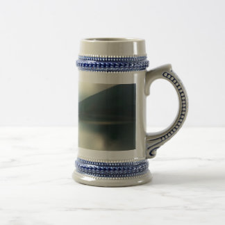 Lake in the mountains beer stein