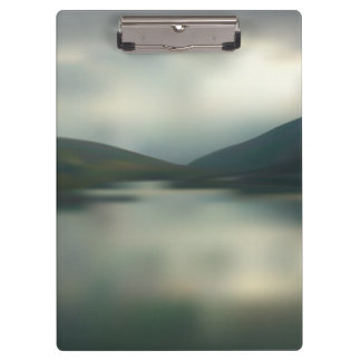 Lake in the mountains clipboard