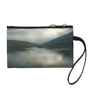 Lake in the mountains coin purse