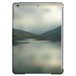 Lake in the mountains cover for iPad air