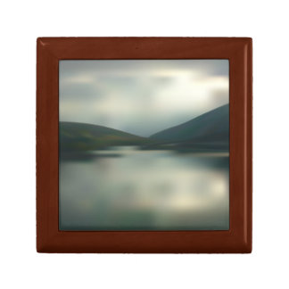 Lake in the mountains gift box