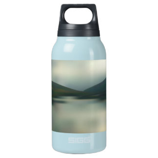 Lake in the mountains insulated water bottle