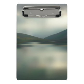 Lake in the mountains mini clipboard
