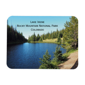Lake irene in Rocky Mountain National Park Magnet