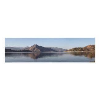 Lake Isabella Southern Shore Panoramic Photo Art