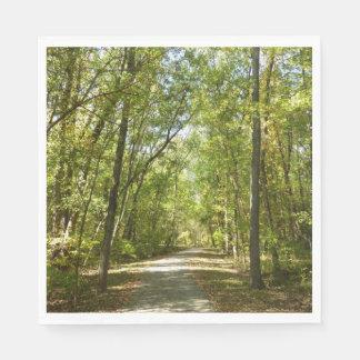 Lake Kittamaquandi Trail in Columbia Maryland Paper Napkin