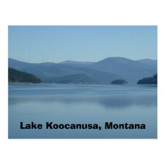 Lake Koocanusa Montana Postcard