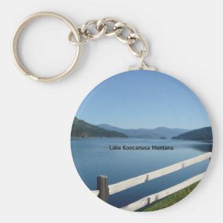 Lake Koocanusa Northwest Montana Keychain