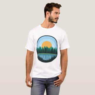 Lake Landscape Man Shirt