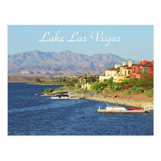 Lake Las Vegas Postcard