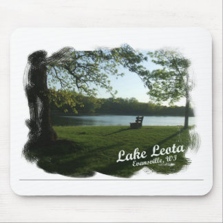 Lake Leota Evansville Wisconsin Mouse Pad