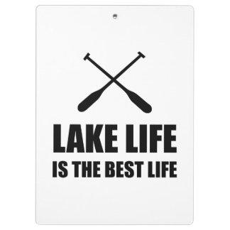 Lake Life Best Life Clipboard