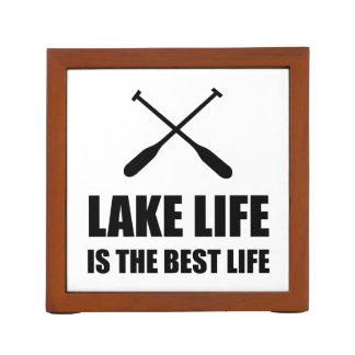 Lake Life Best Life Desk Organizer
