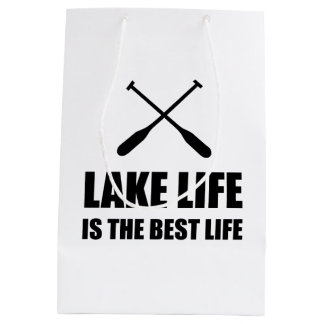 Lake Life Best Life Medium Gift Bag