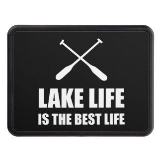 Lake Life Best Life Trailer Hitch Cover
