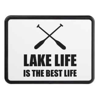 Lake Life Best Life Trailer Hitch Covers