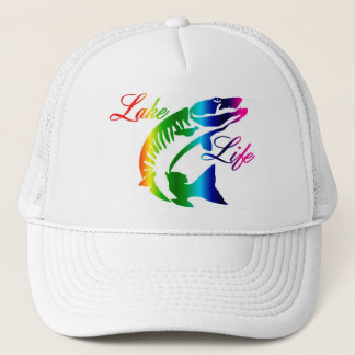 Lake Life Muskie Trucker Hat