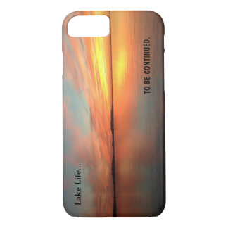 Lake life scenic picture sunset . apple iPhone 7 iPhone 7 Case
