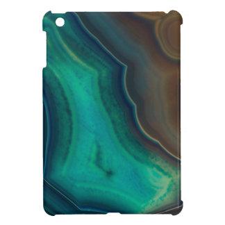 Lake Like Teal & Brown Agate Cover For The iPad Mini