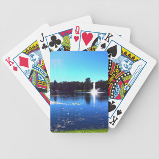 Lake Lilly 2 Bicycle Playing Cards