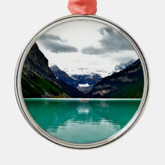 lake-louise-1747328 metal ornament
