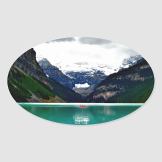 lake-louise-1747328 oval sticker