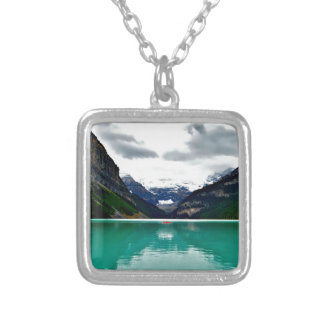 lake-louise-1747328 silver plated necklace