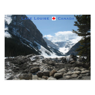 Lake Louise Alberta Canada Postcard