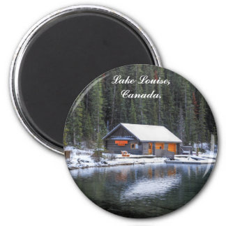Lake Louise_Boat House_Magnet Magnet