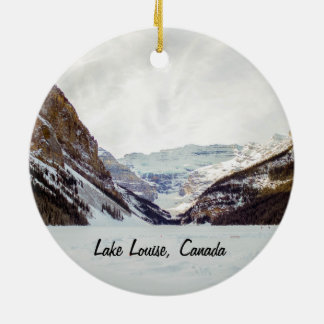 Lake Louise Christmas ornament