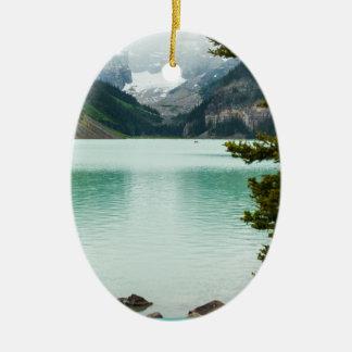 Lake Louise Christmas ornament