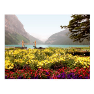 Lake Louise Gardens Postcard