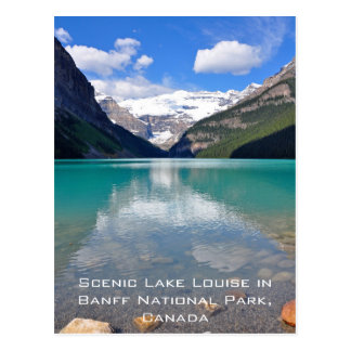 Lake Louise in Banff National Park Postcard