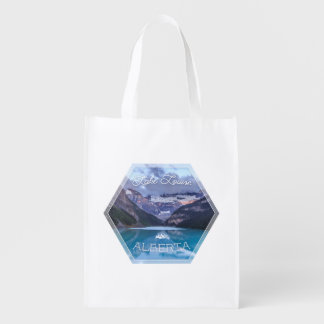 Lake Louise Series 02 Grocery Tote Market Tote