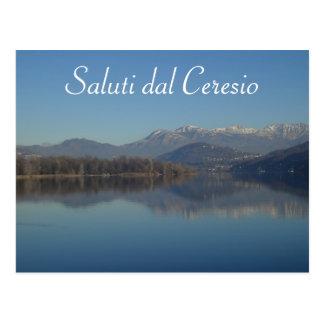 Lake Lugano (Ceresio) Swiss Postcard