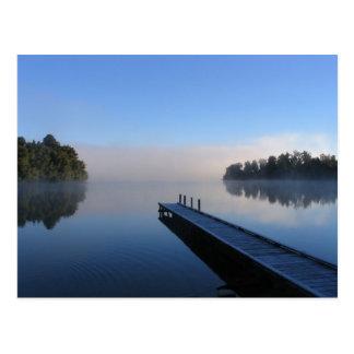 Lake Mapourika New Zealand Postcard