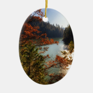 Lake McCloud Ceramic Ornament