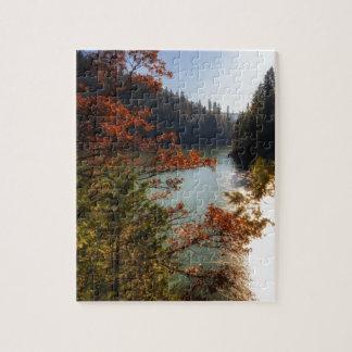 Lake McCloud Jigsaw Puzzle