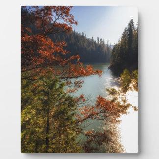 Lake McCloud Plaque
