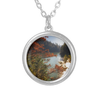 Lake McCloud Silver Plated Necklace