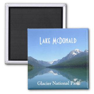 Lake McDonald Glacier National Park Magnet