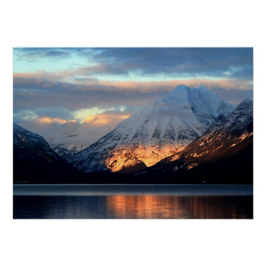 Lake McDonald, Glacier National Park Poster