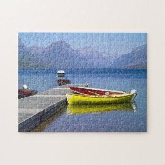 Lake McDonald Glacier Park. Jigsaw Puzzle